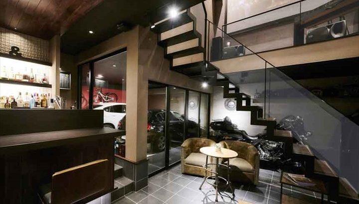 沢山のお得なメリットがある二階建てのガレージハウス特集!