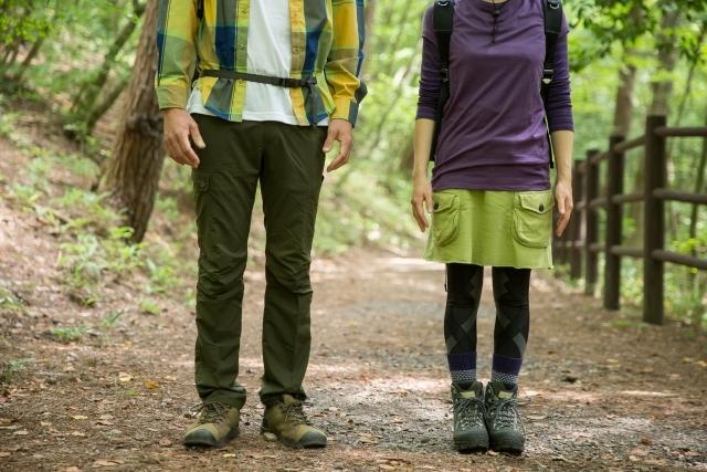 天狗岳登山の服装