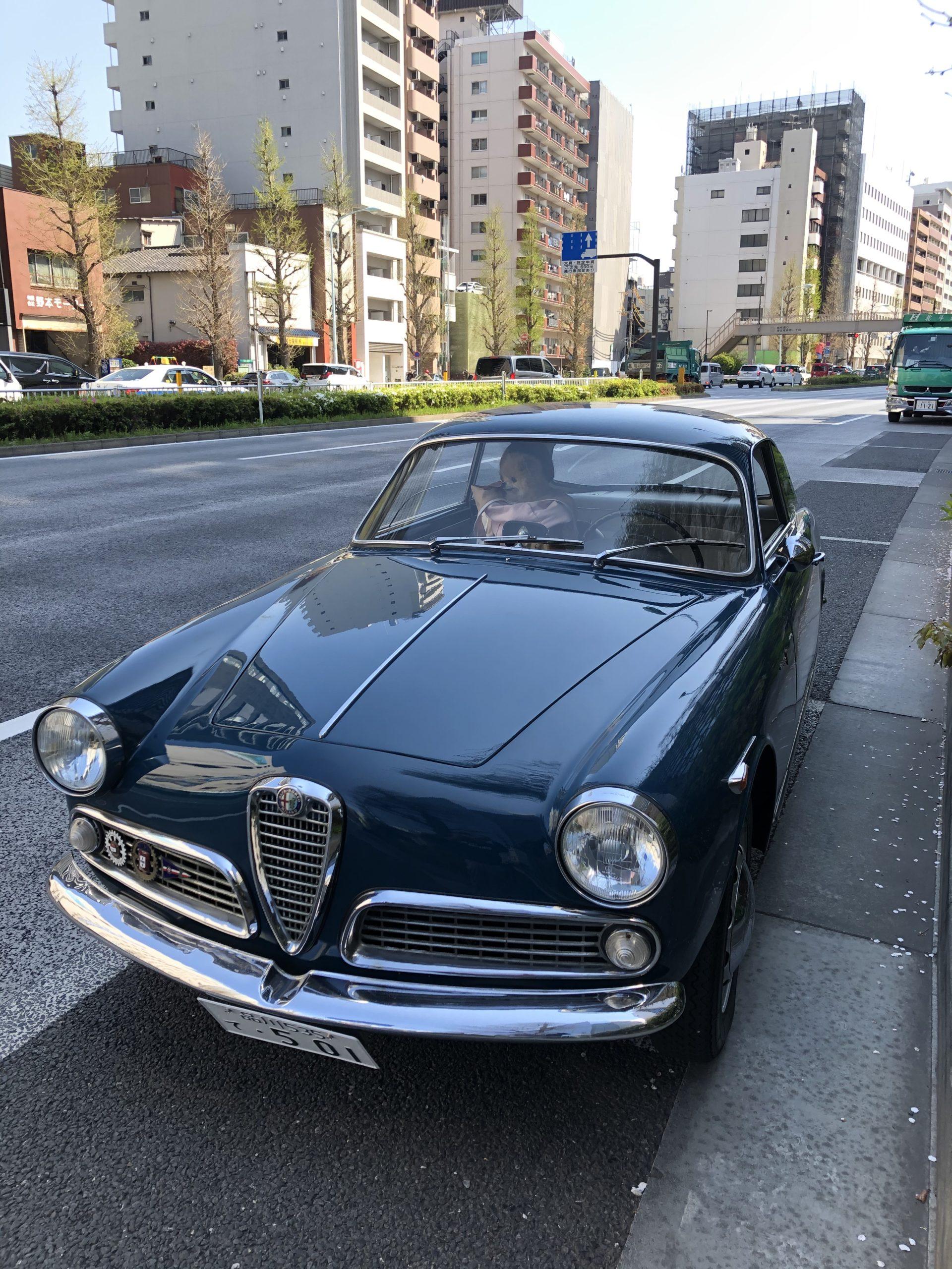 メンバー(愛車)紹介:アルファロメオ ジュリエッタ スプリント 101系 1961年モデル