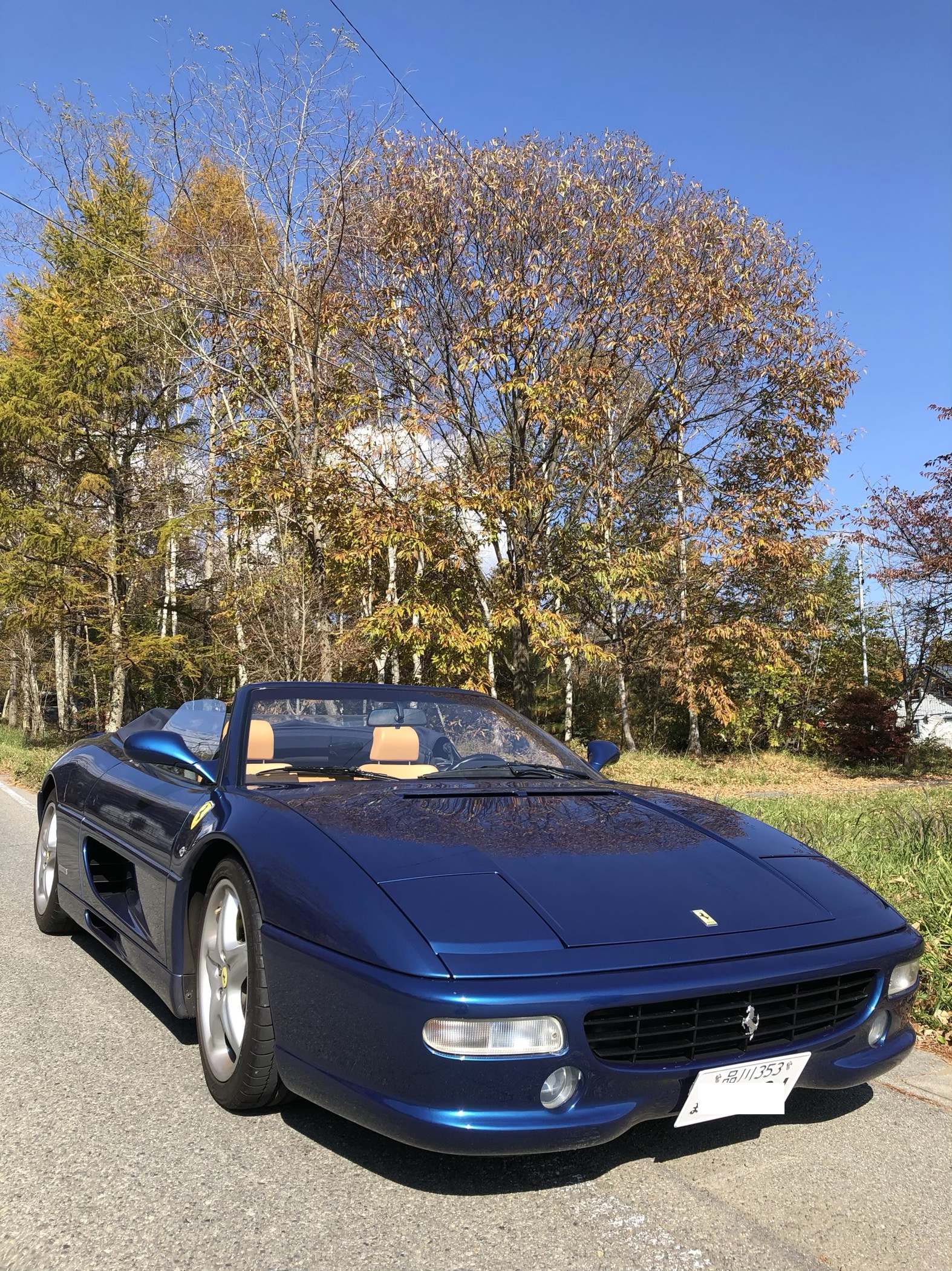 メンバー(愛車)紹介 1:Ferrari F355 spider
