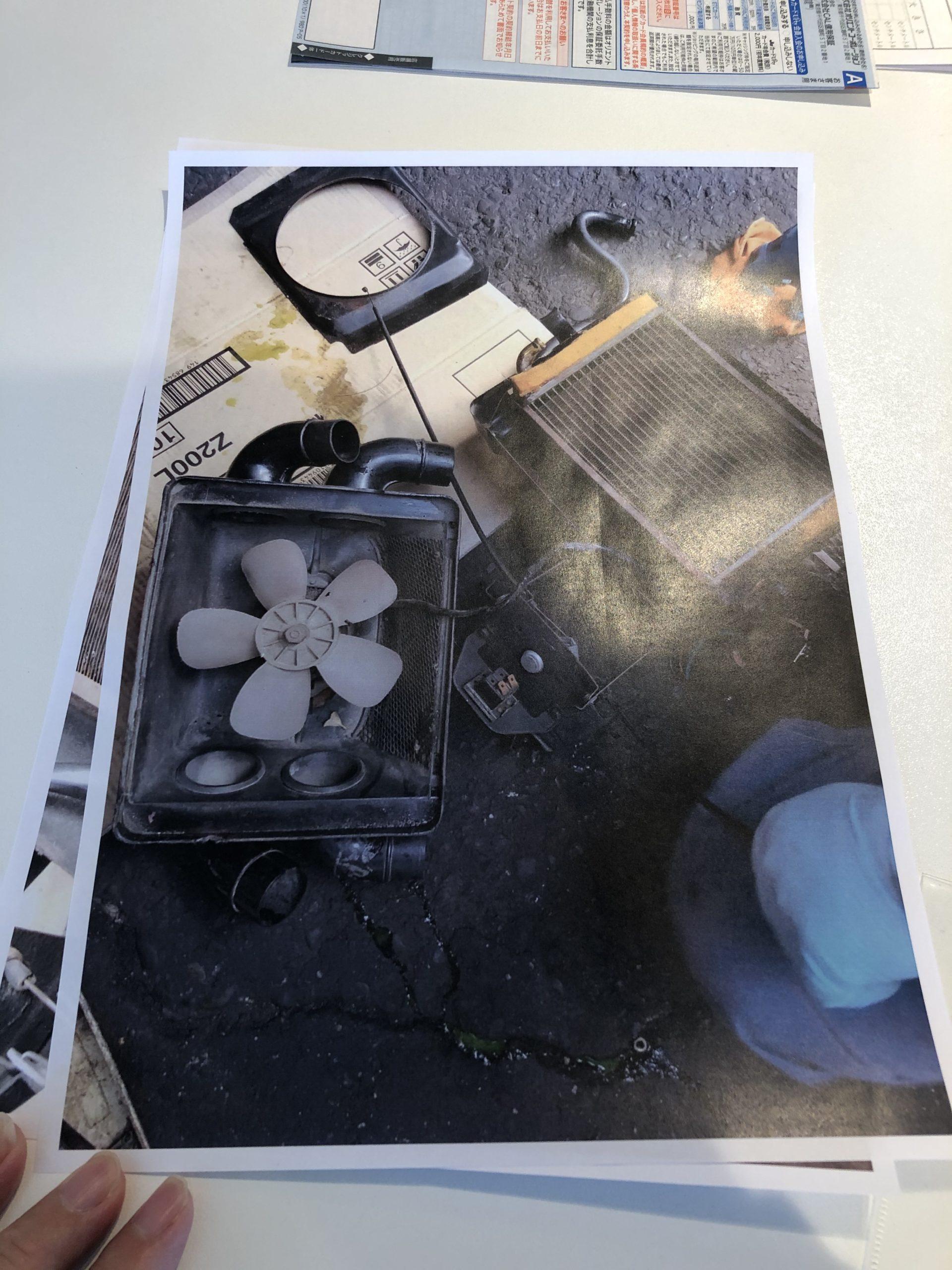 アルファロメオ デュエット 冷却系 ポンプ