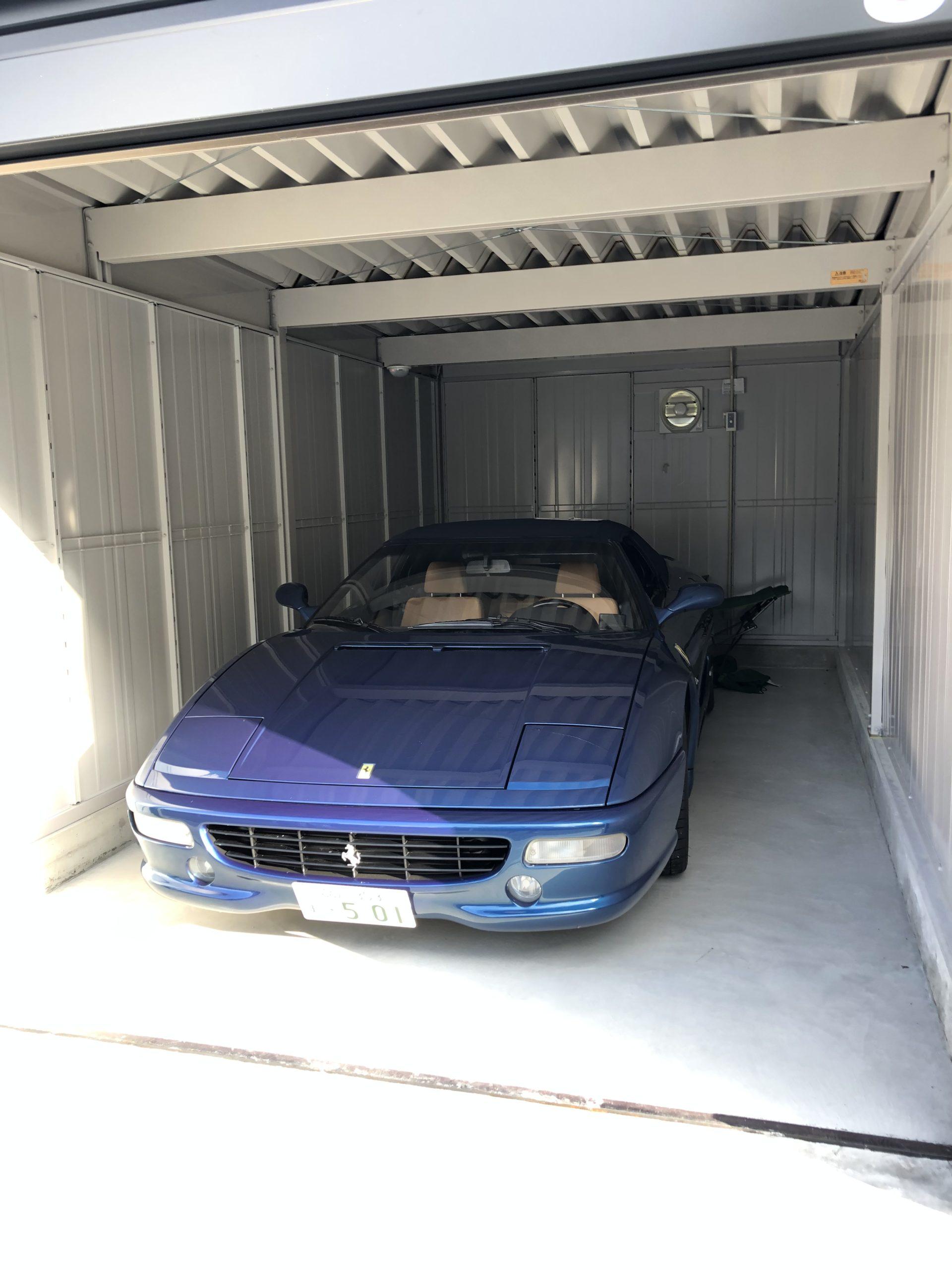 フェラーリ f355 ガレージ