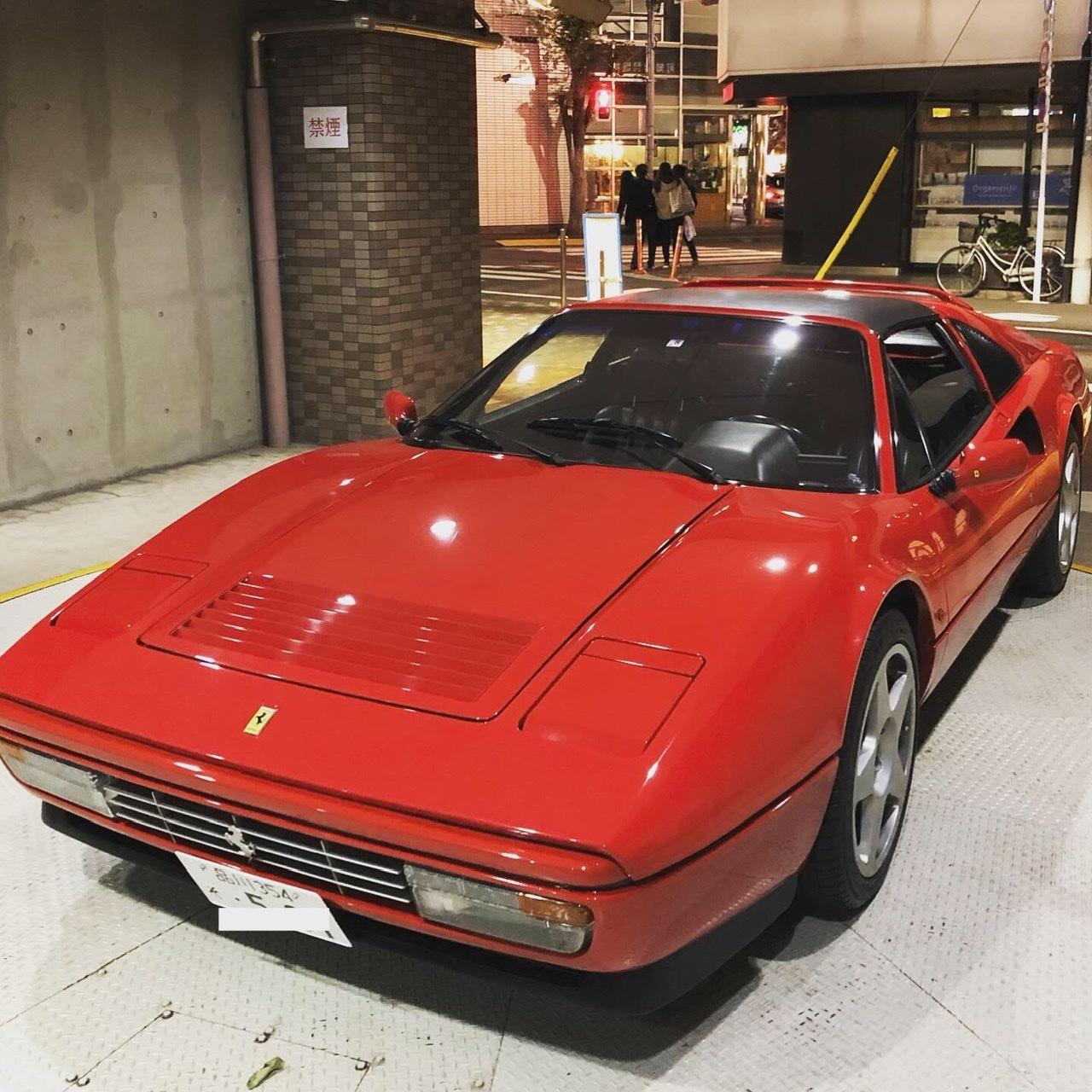 メンバー(愛車)紹介3:フェラーリ328GTS 人間が扱える最適なパワーとボディサイズを持った楽しい車を紹介します!
