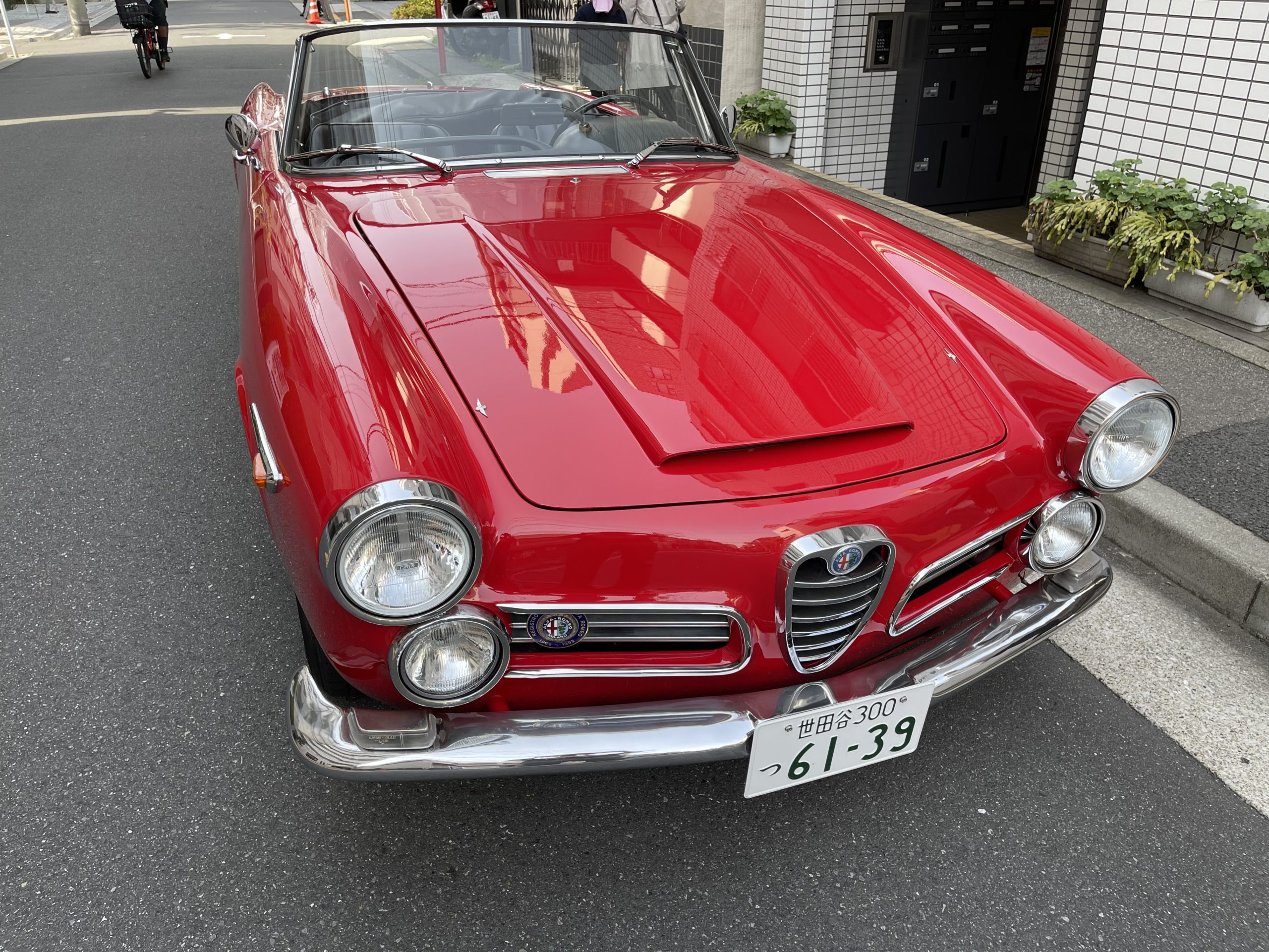 Alfaromeo 2600 Touring Spider アルファロメオ トゥーリングスパイダー