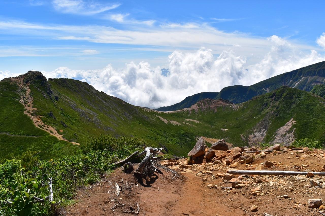 天狗岳の山頂