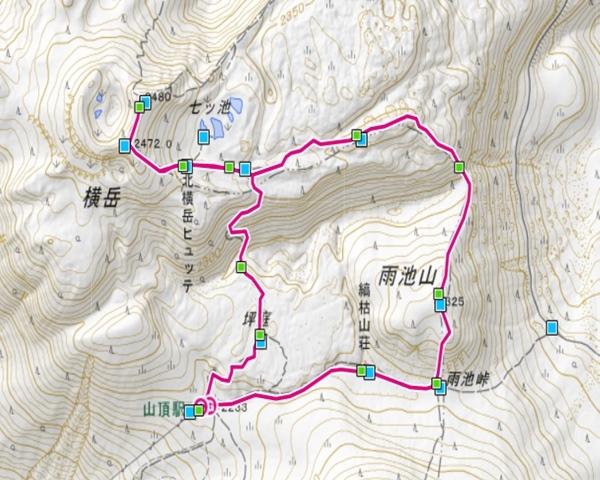 北横岳登山コース