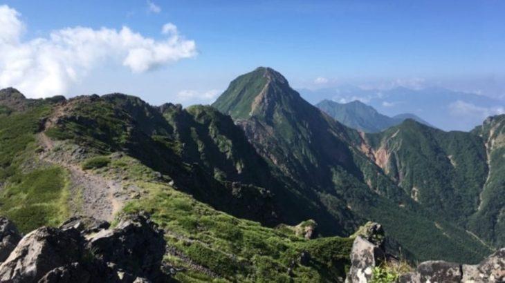 赤岳山頂は絶景