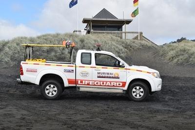 救援車の写真